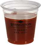 3.5oz Soft Sided Clear Cups